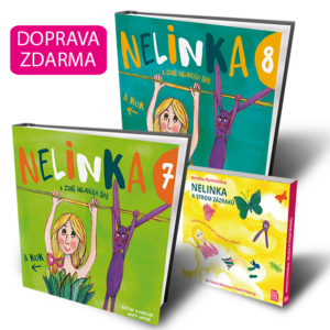 Nelinka a Země mluvících šípů 7 + 8 + audiokniha v MP3 Nelinka a Strom zázraků (doprava zdarma)