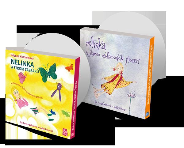 Nelinka a strom zázraků + Nelinka a Jezero nádherných ploutví - Audioknihy na CD (2×CD)